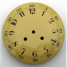 Äldre pendylurstavla med arabiska siffror diam. 190 mm