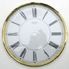 Väggurstavla Lünett med endast centrumhål Diam. 200 mm.